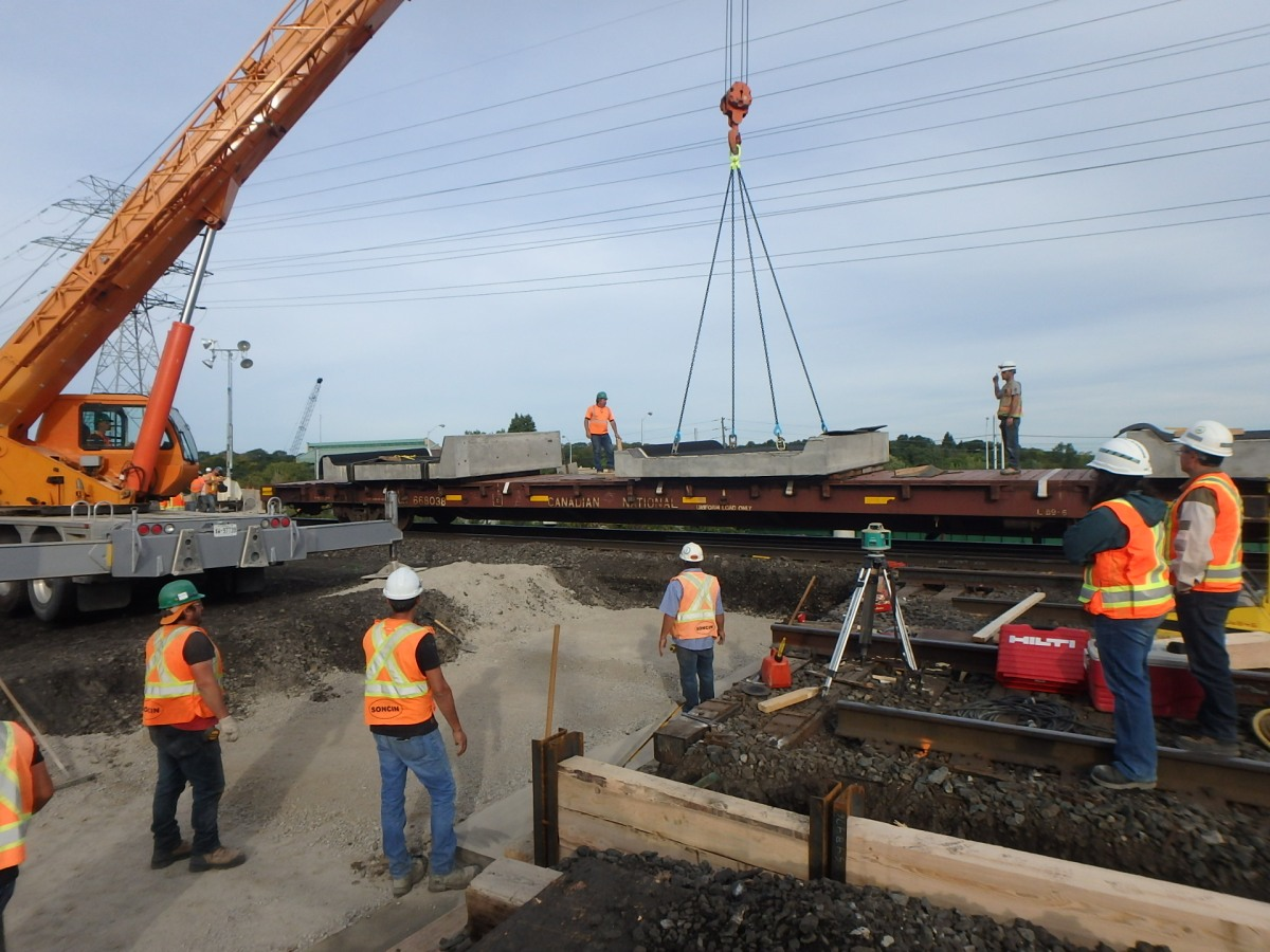 Lakeshore West bridge work nears completion