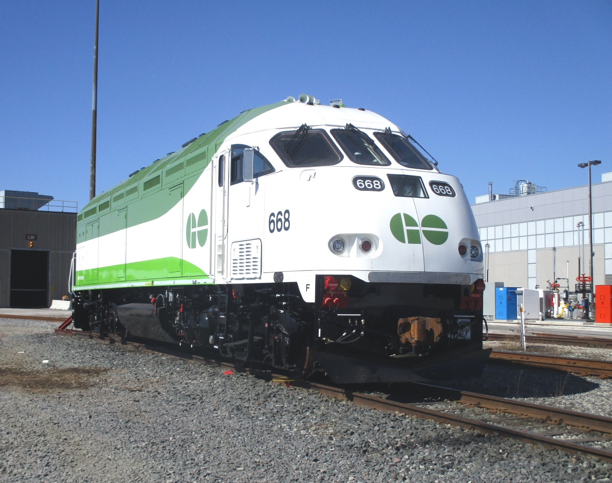 Exclusive. GOing Loco for GO's new Tier 4 Locomotives