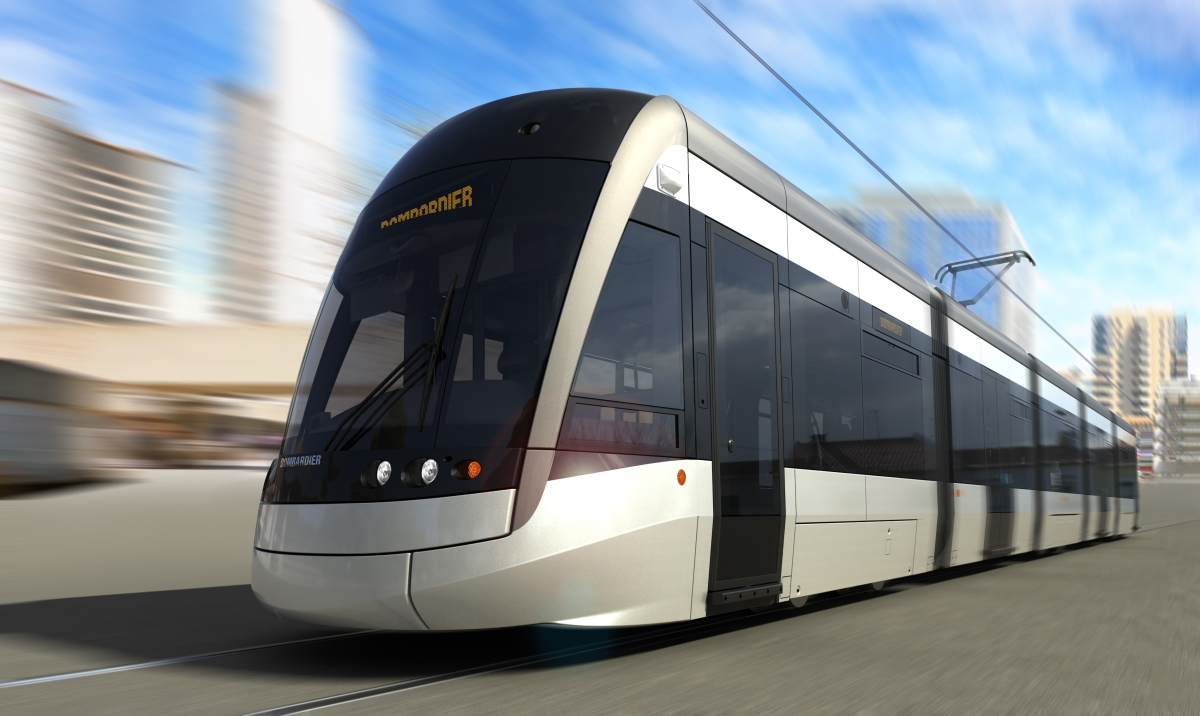 On Track – Your first view of Toronto's Crosstown's light rail vehicles in motion
