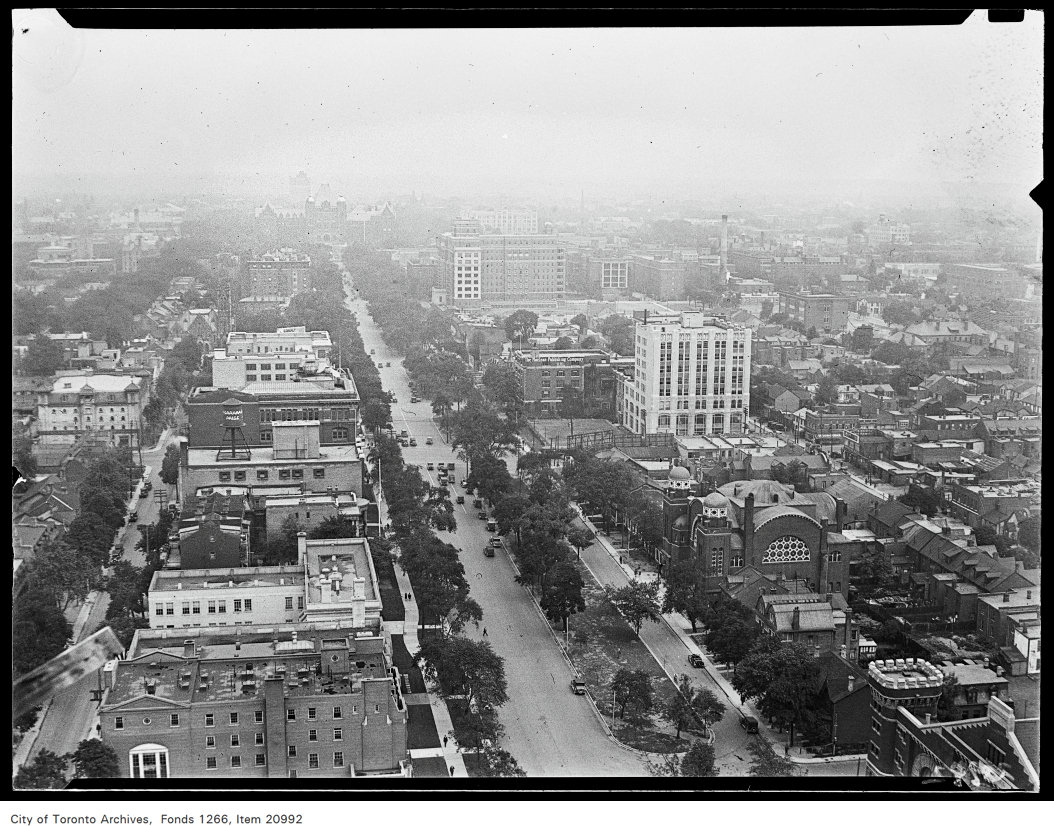 The History of College Street and University Avenue